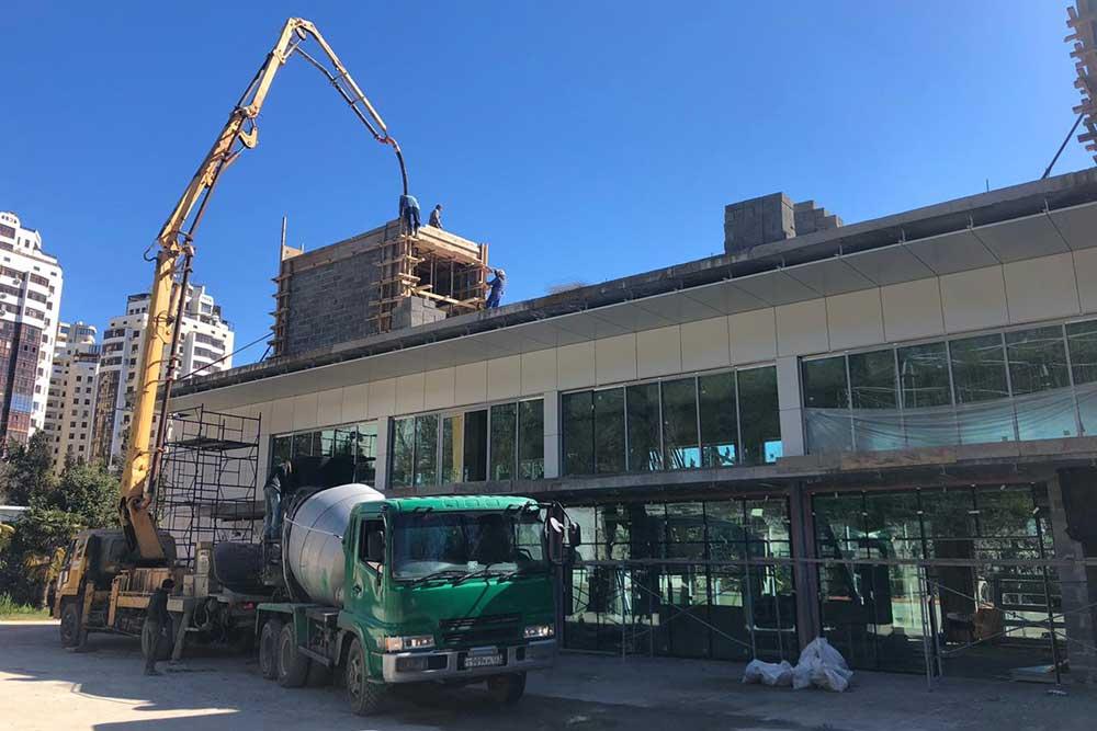 СК Югстрой строит кафе в Сочи