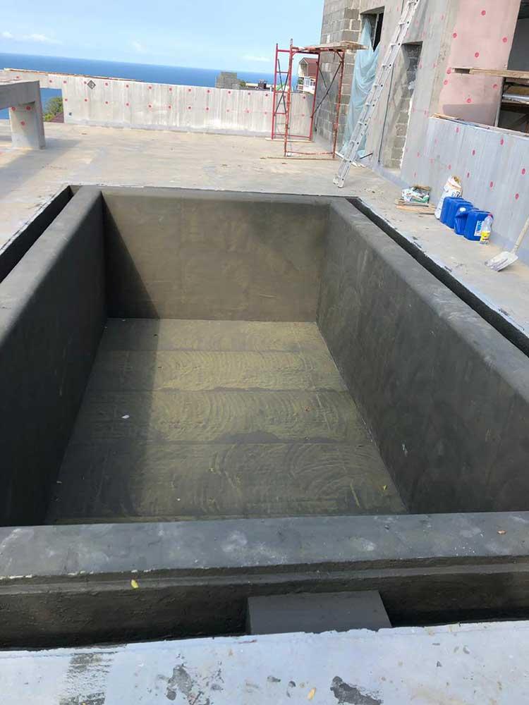ИЖС строительство бассейнов в Сочи