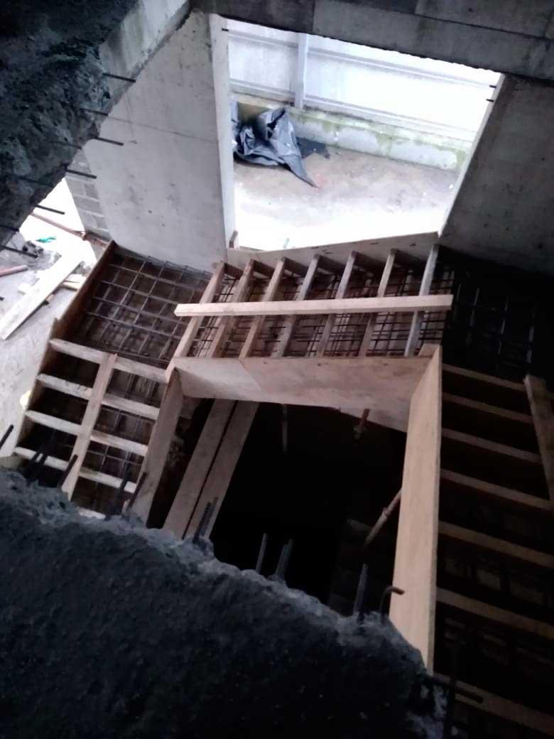 Опалубка для лестницы
