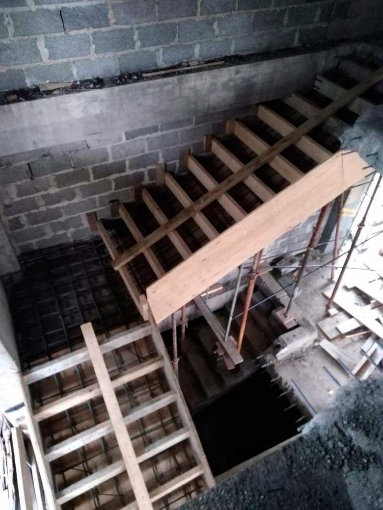 Подготовка для заливки бетона